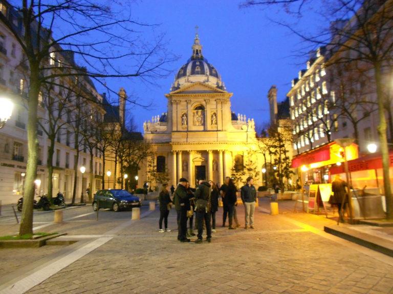 Sorbonne Chapel dome