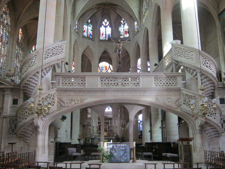 St Etienne du Mont rood-screen