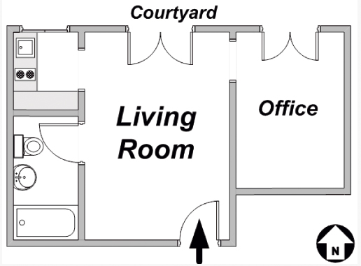 Rollin Floorplan